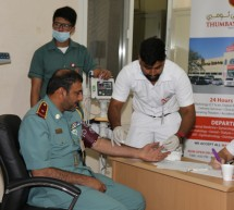 Thumbay Hospital Conducts Free Health Camp at the General Directorate of Residency & Foreigners Affairs Fujairah