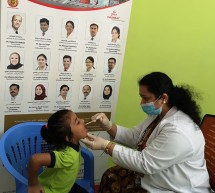 Thumbay Hospital Day Care, University City Road Muweilah-Sharjah Conducts Dental Check up for the KG Students of Ambassador School Sharjah