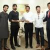 Pakistani Actors Hamza Ali Abbasi, Shaz Khan, Ahad Raza Mir Visit Thumbay Medicity Ajman