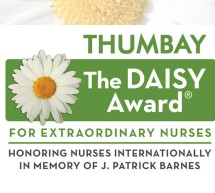 THUMBAY DAISY FIRST AWARDEE – Ms. ANU GEORGE, RN, NICU