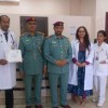 """Thumbay Hospital Daycare -Rolla Participates in the """"My Health is my Happiness"""" event at Sharjah Police Medical Service Center"""