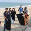Thumbay Pharmacy organized a beach clean-up drive SAVE OUR BEACH at  Al Zorah Beach Ajman
