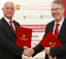 Gulf Medical University Signs MoU with the Federation of the Royal College of Physicians UK for Offering Post Graduate Program and Establishing International Examination Center