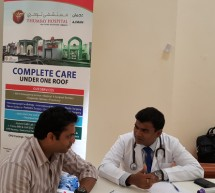 Thumbay Hospital Conducts Health Checkup Camp at CUCA Ajman