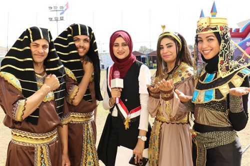 Gulf Medical University Students Celebrate Cultural Diversity at Global Day 2018