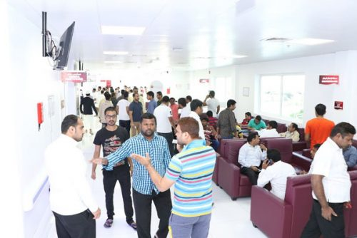 Huge Crowd Turnout Marks Blood Donation Camp and Free Health Checkup Organized by Thumbay Hospital Dubai and Bearys Cultural Forum