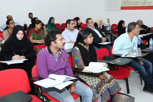 Intensive Workshop on Clinical EKG held at Gulf Medical University, Ajman