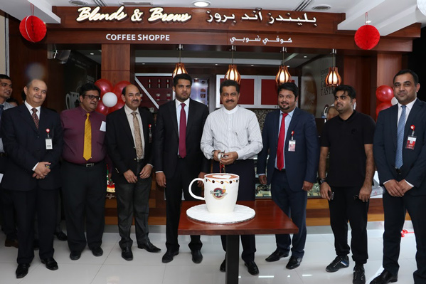 First Drive-thru Outlet of Blends & Brews Coffee Shoppe in Ajman