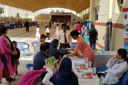 Thumbay Hospital Conducts Free Health Checkup Camp at Indian Excellent Private School