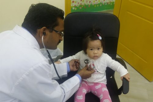 Thumbay Clinic RAK Conducts Pediatric Camp at Chubby Cheeks Nursery