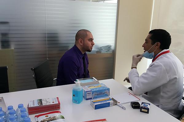 Ajman ban health camp