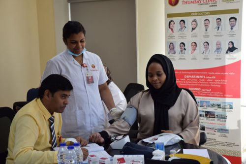 Thumbay Clinic Ajman Conducts Free Health camp at Ajman Moalajah (Sewerage)