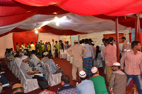 Medical Camp at Iftar Tent of Emirates red Crescent