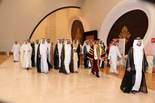 Ajman Ruler awards over 107 degrees on 13th Gulf Medical University convocation ceremony