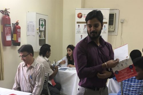Thumbay Clinic Sharjah Organizes Free Medical Camp at Verger Delporte U.A.E. Ltd