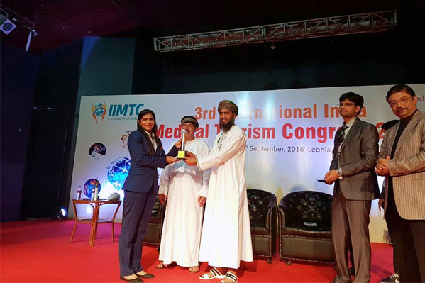 'International Excellence Center of the  Year' Award at IIMTC 2016