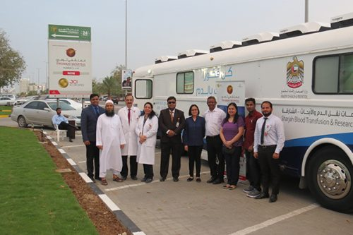 Thumbay Hospital Fujairah Organizes Blood Donation Camp to Mark World Health Day