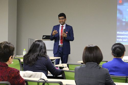 GMU Faculty, Dr. Anil Bankar lectures at International Seminar on Global Health & Medical Tourism, Japan