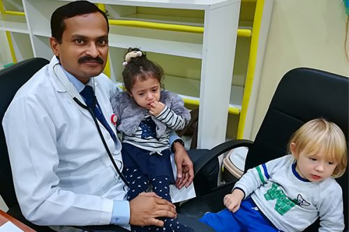 Thumbay Clinic RAK Conducts a Monthly Pediatrician Visit to Chubby Cheeks Nursery