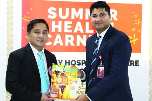 Thumbay Hospital Day Care Rolla Launches Summer Health Carnival for Philippine Nationals