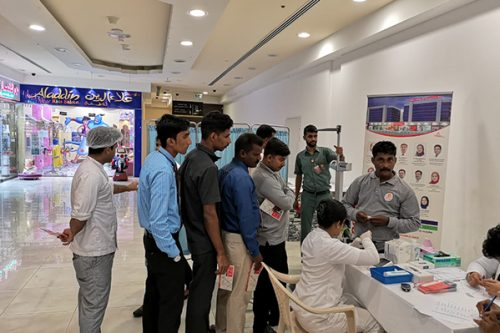 Thumbay Hospital Day Care, University City Road Muweilah-Sharjah Conducts Free Health Camp at Nesto Hypermarket Muweila Sharjah