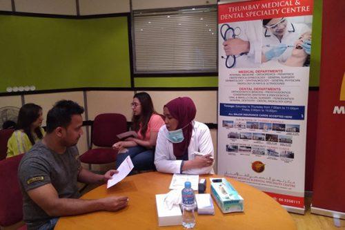 Thumbay Medical & Dental Specialty Centre Sharjah Organizes Health Awareness Event at McDonalds Head office, Sharjah