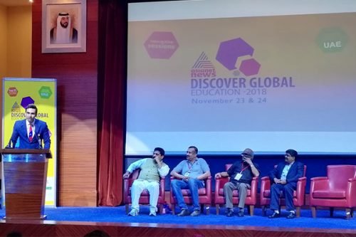 "Gulf Medical University Participates in ""Discover Global Education 2018"""