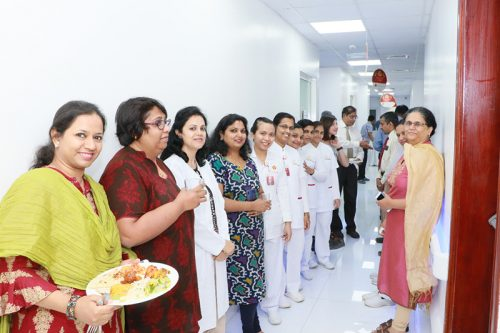 Thumbay Hospital Day Care Rolla Hosts Iftaar Party