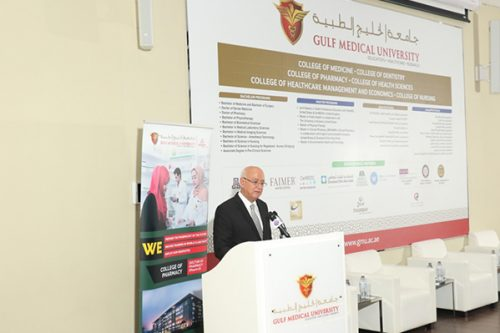 Gulf Medical University Transforms from Local to Global Medical University, Launches New Programs and Colleges