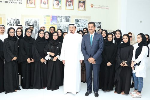 His Highness Sheikh Humaid Bin Rashid Al Nuaimi Inaugurates Innovation and Research Center at Gulf Medical University
