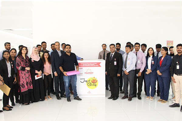 Thumbay Group's CSR Committee Launches 'Joy of Giving