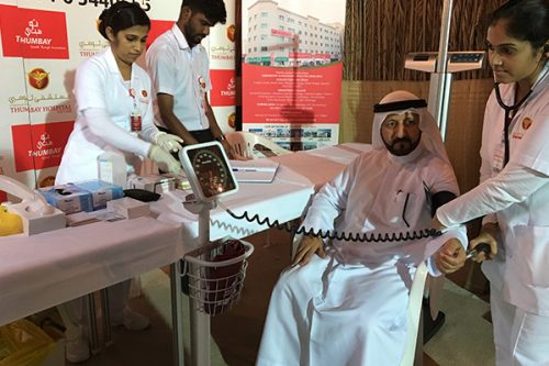 Thumbay Hospital Day Care Conducts Free Heath Camp at Sharjah Heritage Days