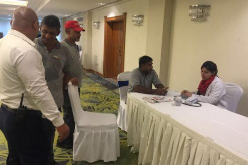 Thumbay Hospital Ajman Conducts Free Health Camp at Coral Beach Resort