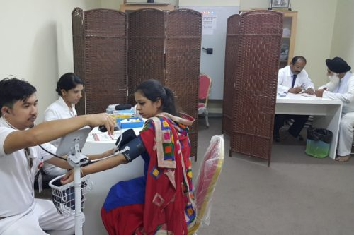 Thumbay Hospital Day Care – University City Road, Sharjah conducted a health awareness program at Gurudwara Dubai