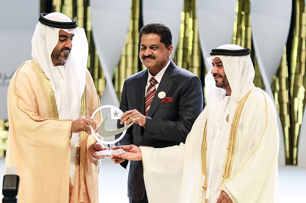 Thumbay Group Wins Four Honors at the Prestigious Sheikh